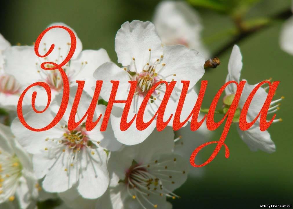 Поздравления с днём рождения для зинаиды